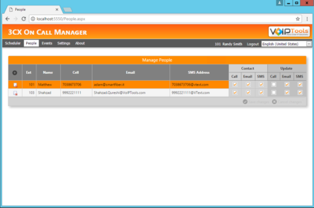 3CX On Call Manager « VoipTools